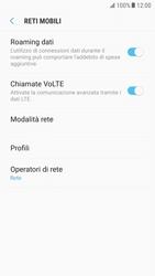 Samsung Galaxy S6 - Android Nougat - Internet e roaming dati - Disattivazione del roaming dati - Fase 6