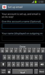 Samsung Galaxy Trend Lite - E-mail - manual configuration - Step 18