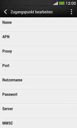 HTC Desire 500 - Internet - Apn-Einstellungen - 9 / 26