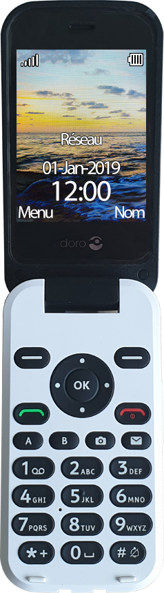 Doro 6620 - Premiers pas - Découvrir les touches principales - Étape 3