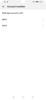 Huawei P Smart (2019) - E-mail - e-mail instellen: POP3 - Stap 7
