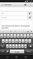 Sony Xperia Z - E-Mail - E-Mail versenden - 5 / 15