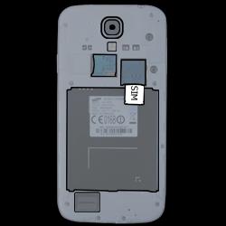 Samsung Galaxy S4 LTE - SIM-Karte - Einlegen - 2 / 2