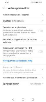 Huawei P Smart 2021 - Sécuriser votre mobile - Personnaliser le code PIN de votre carte SIM - Étape 5