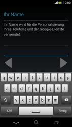 Sony Xperia V - Apps - Einrichten des App Stores - Schritt 7