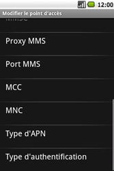 Samsung I5700 Galaxy Spica - MMS - configuration manuelle - Étape 11