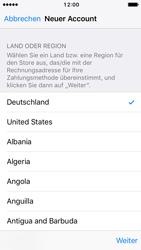 Apple iPhone SE - iOS 10 - Apps - Konto anlegen und einrichten - Schritt 9