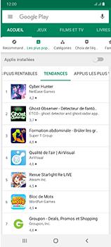 Samsung Galaxy A70 - Applications - Télécharger une application - Étape 9