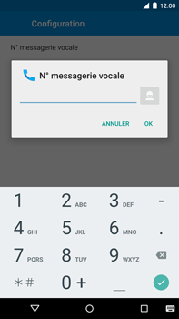 Motorola Nexus 6 - Messagerie vocale - configuration manuelle - Étape 11