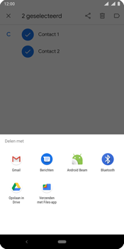 Nokia 9 - Contactgegevens overzetten - delen via Bluetooth - Stap 9