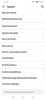 Huawei P30 Lite - Startanleitung - So fügen Sie eine Tastatursprache hinzu - Schritt 4