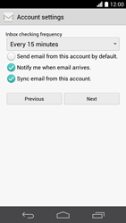 Huawei Ascend P6 LTE - Email - Manual configuration POP3 with SMTP verification - Step 20