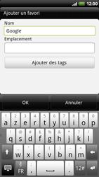 HTC X515m EVO 3D - Internet - Navigation sur Internet - Étape 5