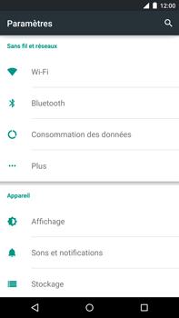 Motorola Nexus 6 - Internet - activer ou désactiver - Étape 4