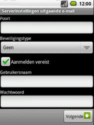 LG P350 Optimus Me - E-mail - handmatig instellen - Stap 10