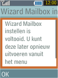 Samsung B2100 Xplorer - E-mail - Handmatig instellen - Stap 16