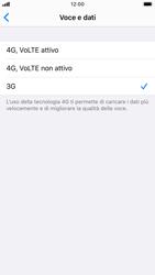 Apple iPhone SE (2020) - Rete - Come attivare la connessione di rete 4G - Fase 6