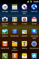 Samsung S7500 Galaxy Ace Plus - E-mail - Configurer l