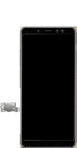 Samsung Galaxy A8 Plus (2018) - SIM-Karte - Einlegen - 1 / 1