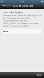 Apple iPhone 5 - Apps - Einrichten des App Stores - Schritt 5