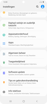 Samsung Galaxy S20 Plus 5G Dual SIM eSIM SM-G986B - Software updaten - Update installeren - Stap 4