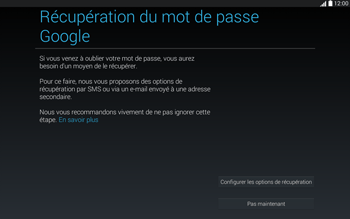 Samsung T535 Galaxy Tab 4 10.1 - Applications - Configuration de votre store d