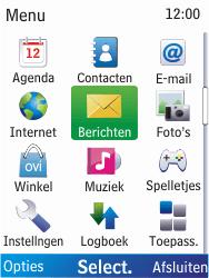 Nokia X2-00 - E-mail - E-mails verzenden - Stap 3