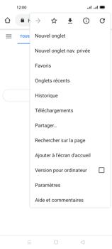 Oppo A72 - Internet et connexion - Naviguer sur internet - Étape 9