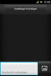 Sony Xperia Miro - MMS - Erstellen und senden - Schritt 6