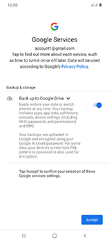 Samsung Galaxy S20 Ultra 5G - Applications - Setting up the application store - Step 19