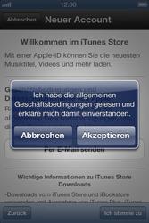 Apple iPhone 3GS - Apps - Einrichten des App Stores - Schritt 7