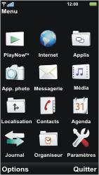 Sony U5i Vivaz - Messagerie vocale - Configuration manuelle - Étape 3