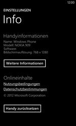 Nokia Lumia 1020 - Fehlerbehebung - Handy zurücksetzen - Schritt 7