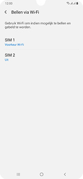 Samsung Galaxy A50 - Bellen - bellen via wifi (VoWifi) - Stap 8
