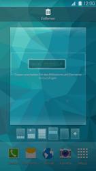 Samsung Galaxy S 5 - Startanleitung - Installieren von Widgets und Apps auf der Startseite - Schritt 6