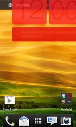 HTC Desire X - Operazioni iniziali - Installazione di widget e applicazioni nella schermata iniziale - Fase 8