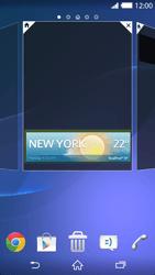 Sony Xperia Z2 - Startanleitung - Installieren von Widgets und Apps auf der Startseite - Schritt 6