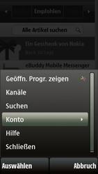 Nokia 5230 - Apps - Konto anlegen und einrichten - 2 / 2