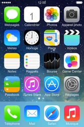 Apple iPhone 4 S iOS 7 - SMS - configuration manuelle - Étape 1