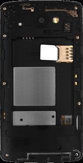 LG Leon 3G - SIM-Karte - Einlegen - 3 / 8