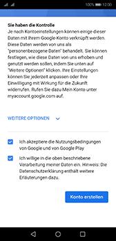 Huawei P20 - Android Pie - Apps - Konto anlegen und einrichten - Schritt 16
