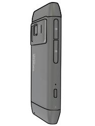 Nokia N8-00 - SIM-Karte - Einlegen - Schritt 2