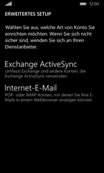 Microsoft Lumia 435 - E-Mail - Konto einrichten - Schritt 9