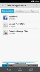 Huawei Ascend P6 - Applications - Comment désinstaller une application - Étape 5