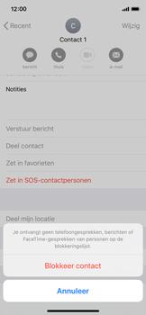 Apple iphone-x-met-ios-13-model-a1901 - Beveiliging en ouderlijk toezicht - Nummer blokkeren - Stap 6