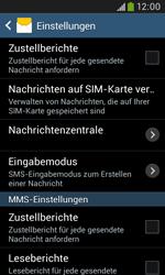 Samsung Galaxy Grand Neo - SMS - Manuelle Konfiguration - 8 / 9