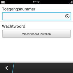 BlackBerry Q5 - Voicemail - Handmatig instellen - Stap 8