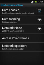 Sony ST27i Xperia Go - Internet - Manual configuration - Step 8