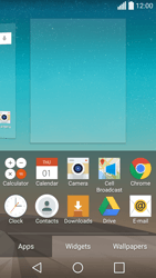 LG Spirit 4G - Getting started - Installing widgets and applications on your start screen - Step 4