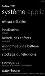 Nokia Lumia 925 - Internet et roaming de données - Configuration manuelle - Étape 4